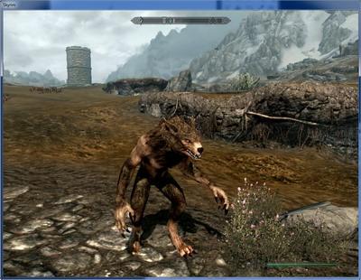 Dawnguard Ветки умений лорда - вампира и оборотня